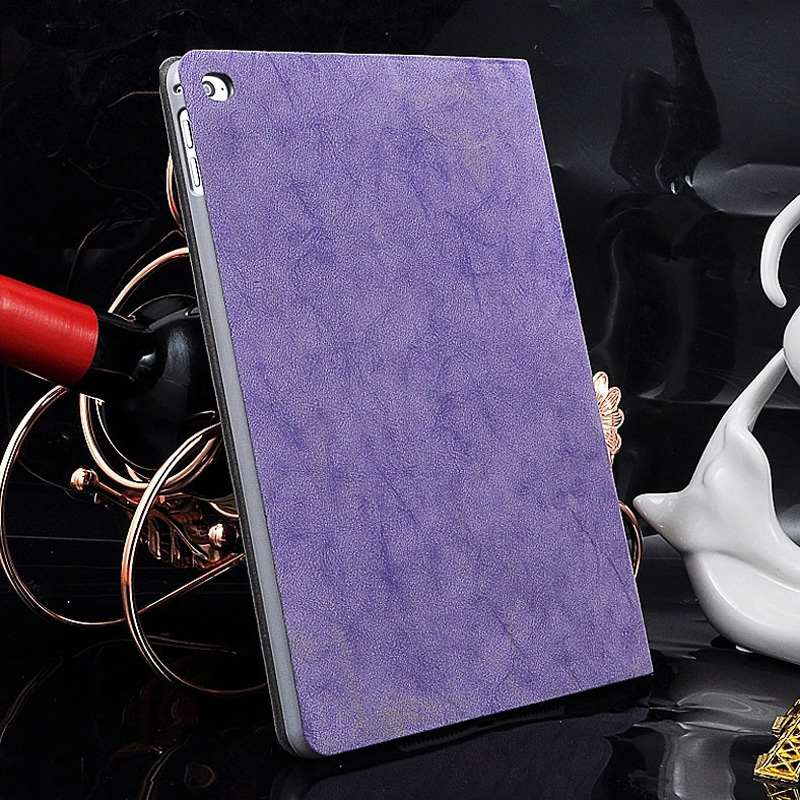 Best 2016 Ultimate Thin Purple Leather Ipad Air 2 Cases