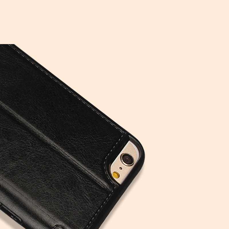 Coolest Protective Leather Black Apple IPhone 6 And Plus