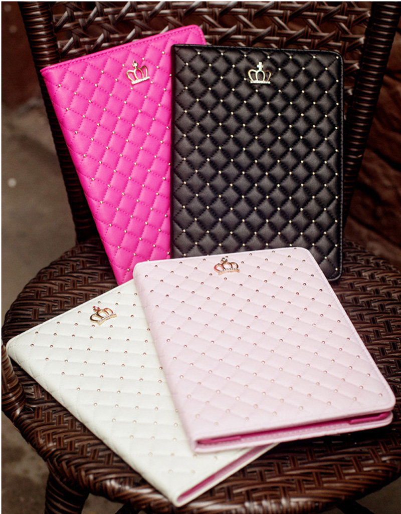 best luxury black pink smart covers cases for ipad air 2 and mini 4