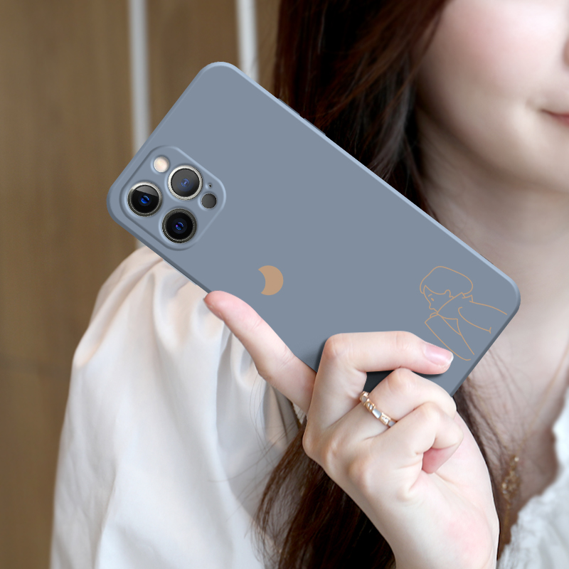best service 6ea1e 615cd 2019 Cute Cartoon Pattern Silicone Case Cover For iPhone 6 6S Plus IP6S02
