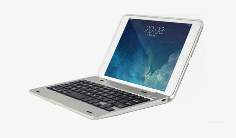 2015 Best Silver Metal IPad Mini 4 Keyboards Covers Or
