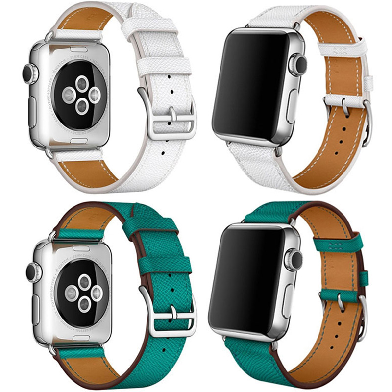 Leather 38MM 42MM Apple Watch Band For iWatch 1 2 3 AWB01_7