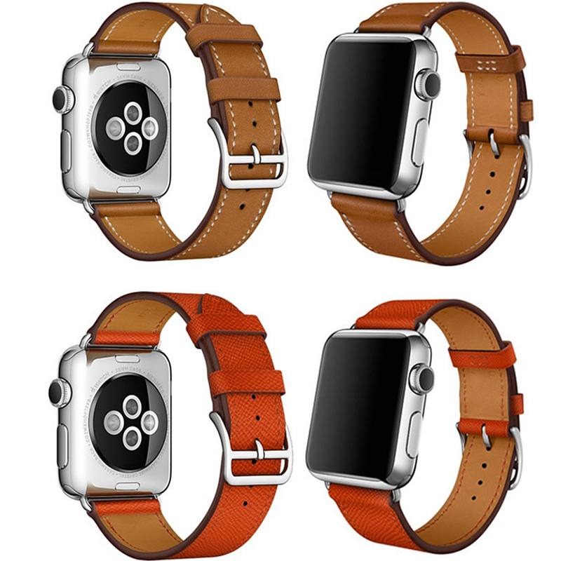Leather 38MM 42MM Apple Watch Band For iWatch 1 2 3 AWB01_8