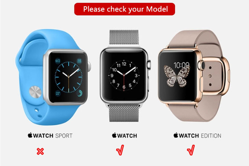 2018 Best 38 42 MM Brown Leather Classic Edition Apple