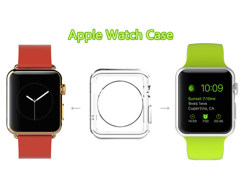 Cheap Protective Plastic Apple Sport Watch Case For 38 40 42 44 MM AWB05_6
