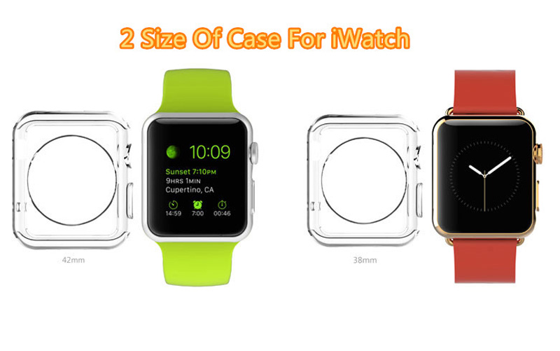 Cheap Protective Plastic Apple Sport Watch Case For 38 40 42 44 MM AWB05_8