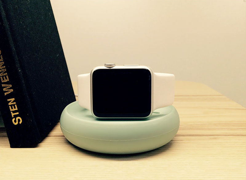Portable iWatch Charger Stand Dock Bottom Put USB Cable AWB06_15