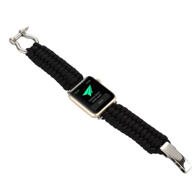 Nylon Weave Sport Strap Band For Apple Watch Series 1 2 3 AWB10_12