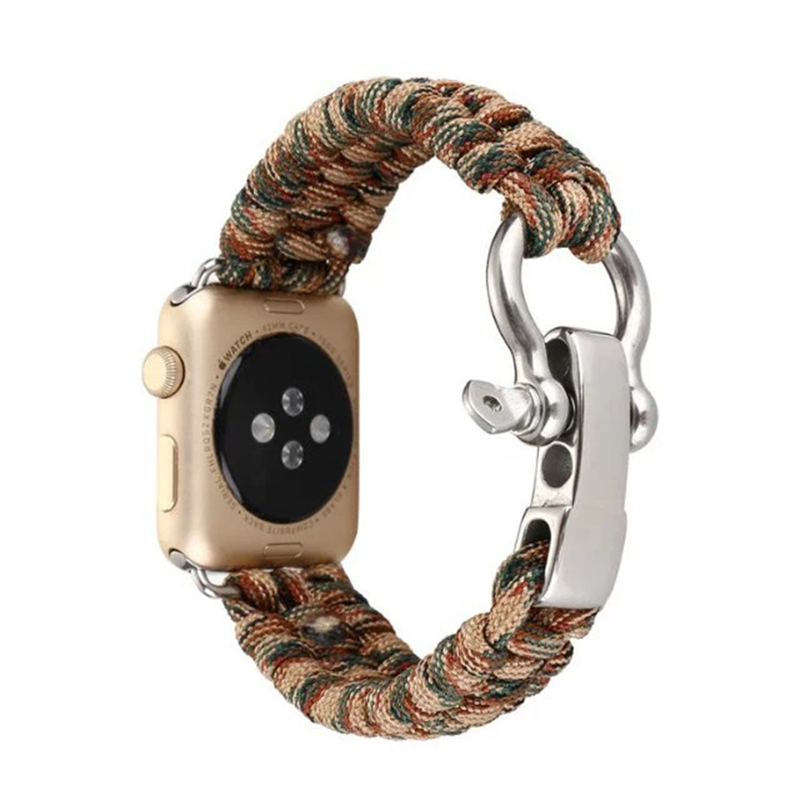 Nylon Weave Sport Strap Band For Apple Watch Series 1 2 3 AWB10_15