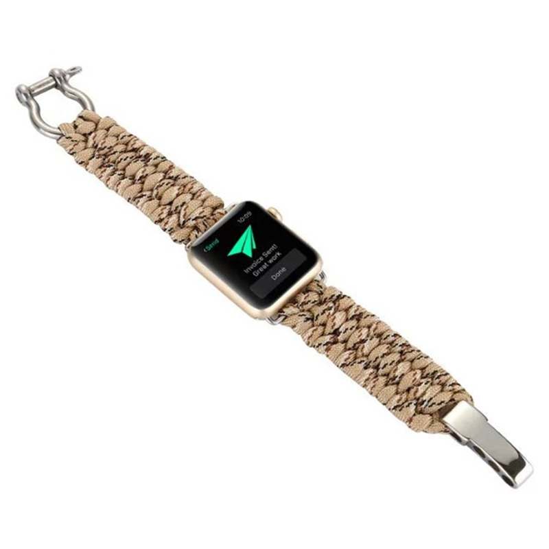 Nylon Weave Sport Strap Band For Apple Watch Series 1 2 3 AWB10_7