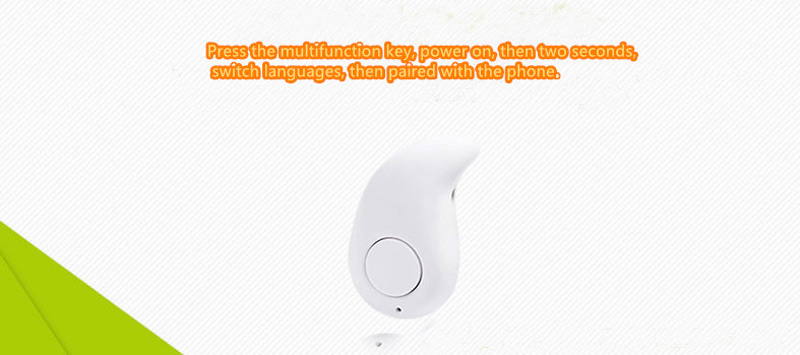 Smallest Pink Bluetooth Headset Mini Wireless Sport Headphones BTE02_9