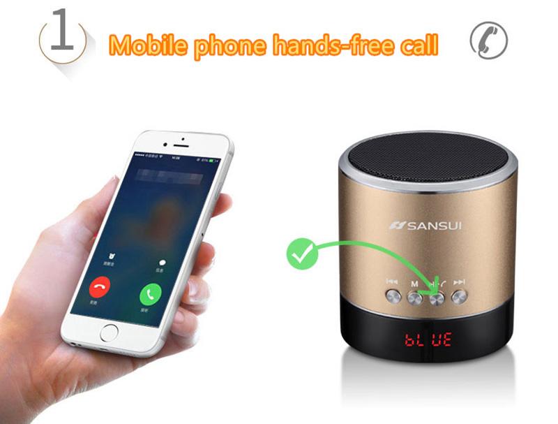 Wireless Bluetooth Mini Speaker For Phone PC Notebook BTE03_12