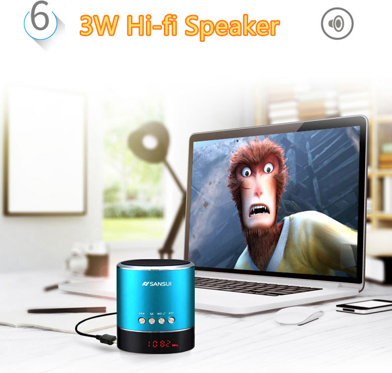 Wireless Bluetooth Mini Speaker For Phone PC Notebook BTE03_17