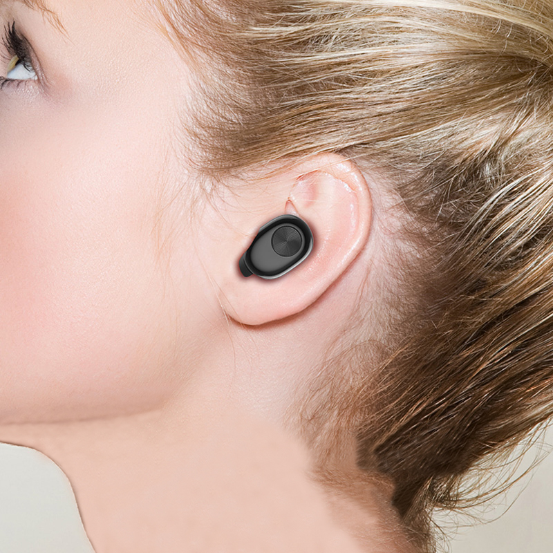 Bluetooth In Ear Mini Headset With 700mA Charging Case For Running And Drive BTE10_9