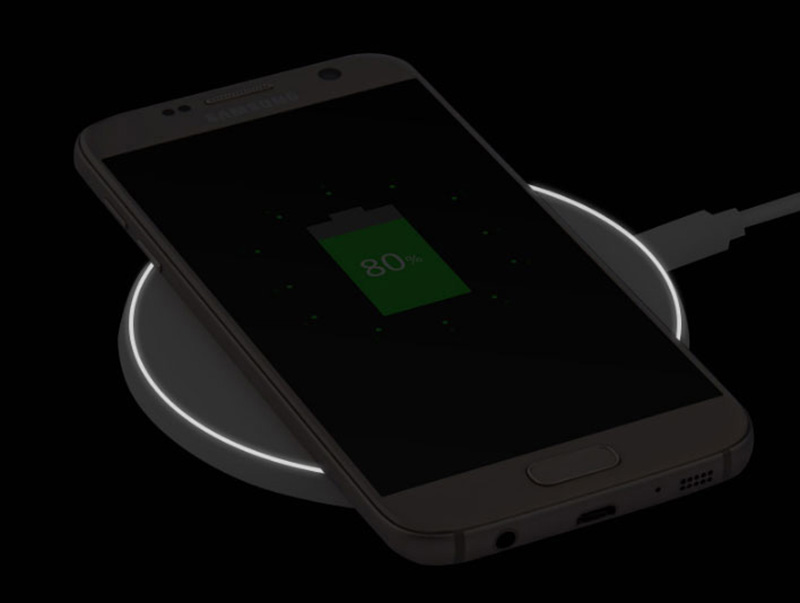 Universal Wireless Charger For iPhone Samsung Andrews Mobile Phone ICD05_8