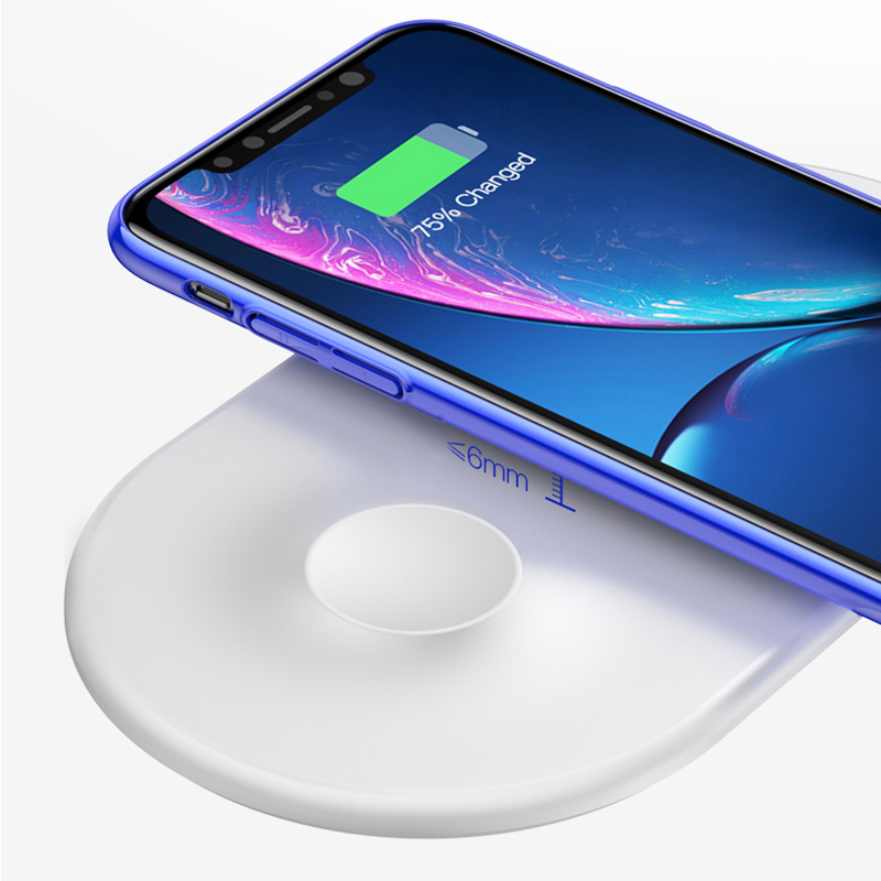 Wireless Charger For Apple Watch And iPhone Android Phone ICD09_8