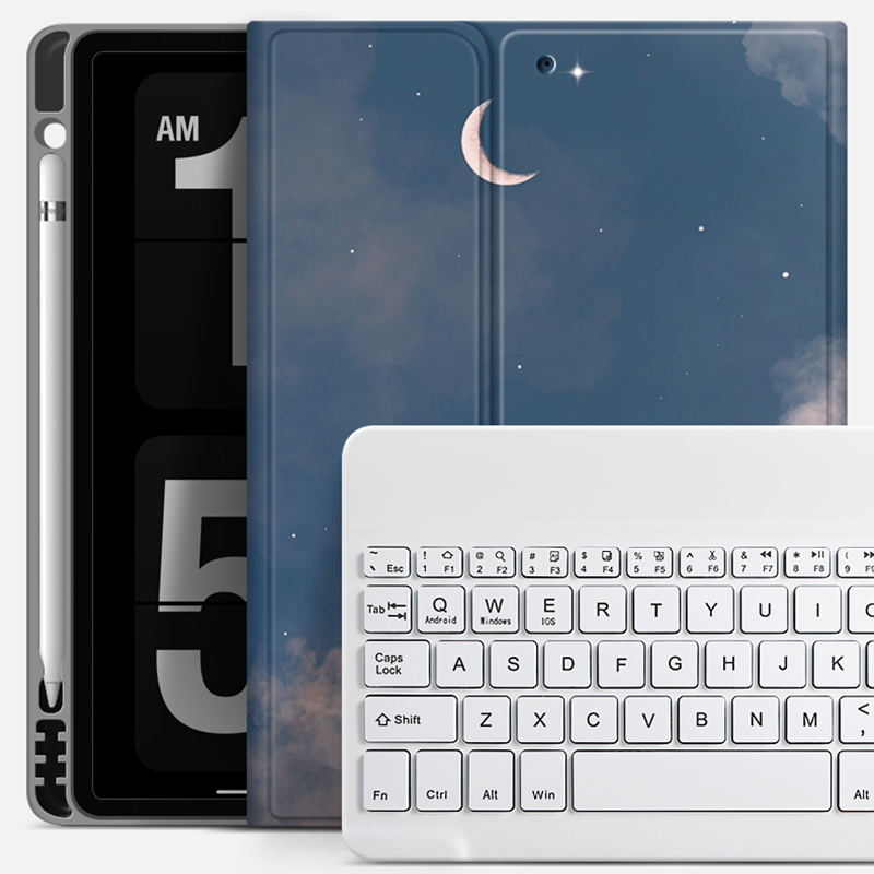 Best Leather iPad Air Pro Mini 2018 New iPad Keyboard With Cover IP502_8