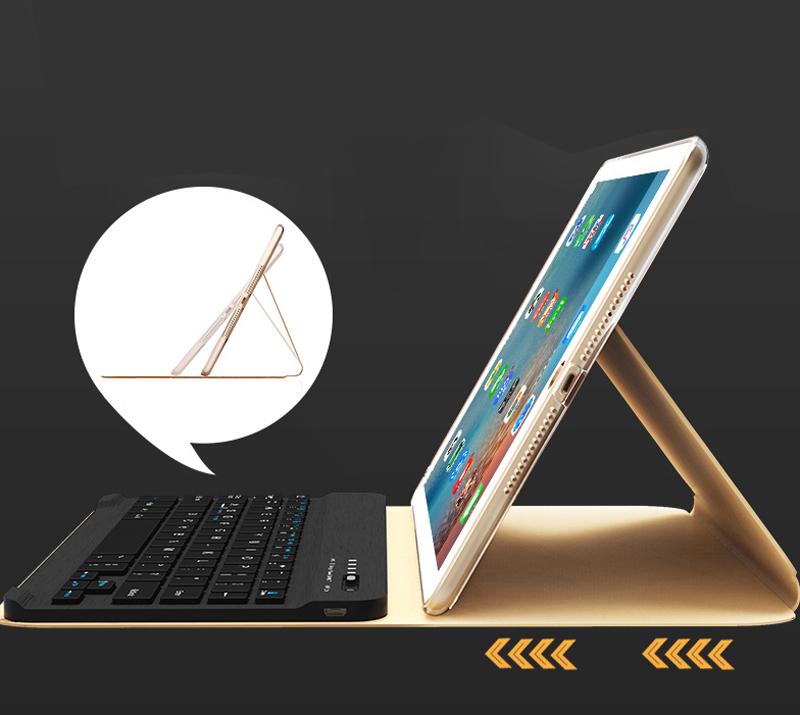 Smart Protective iPad Air 1 2 2017 New iPad Keyboard Cover IP505_8