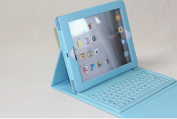 Cheap iPad Air Cases With Keyboard 2018 New iPad Cover Keyboard IP506-sky-blue_18