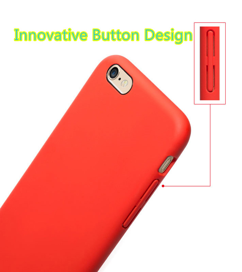 Perfect Silicone Protective Case Cover For iPhone 8 7 6S 6 Plus IP6S03_11