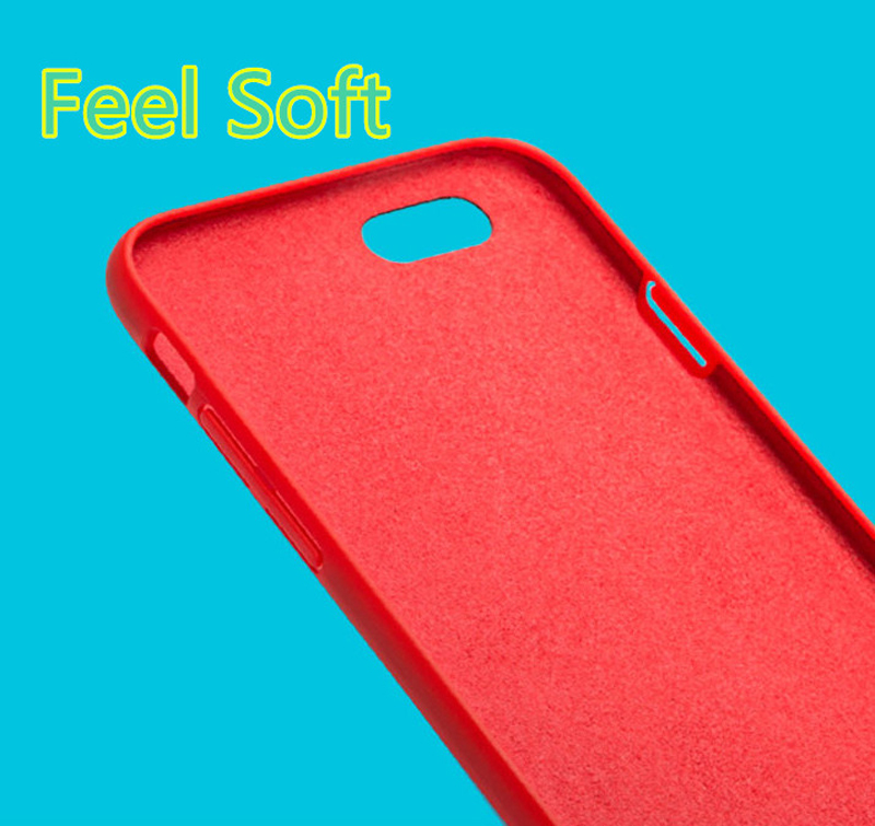 Perfect Silicone Protective Case Cover For iPhone 8 7 6S 6 Plus IP6S03_12