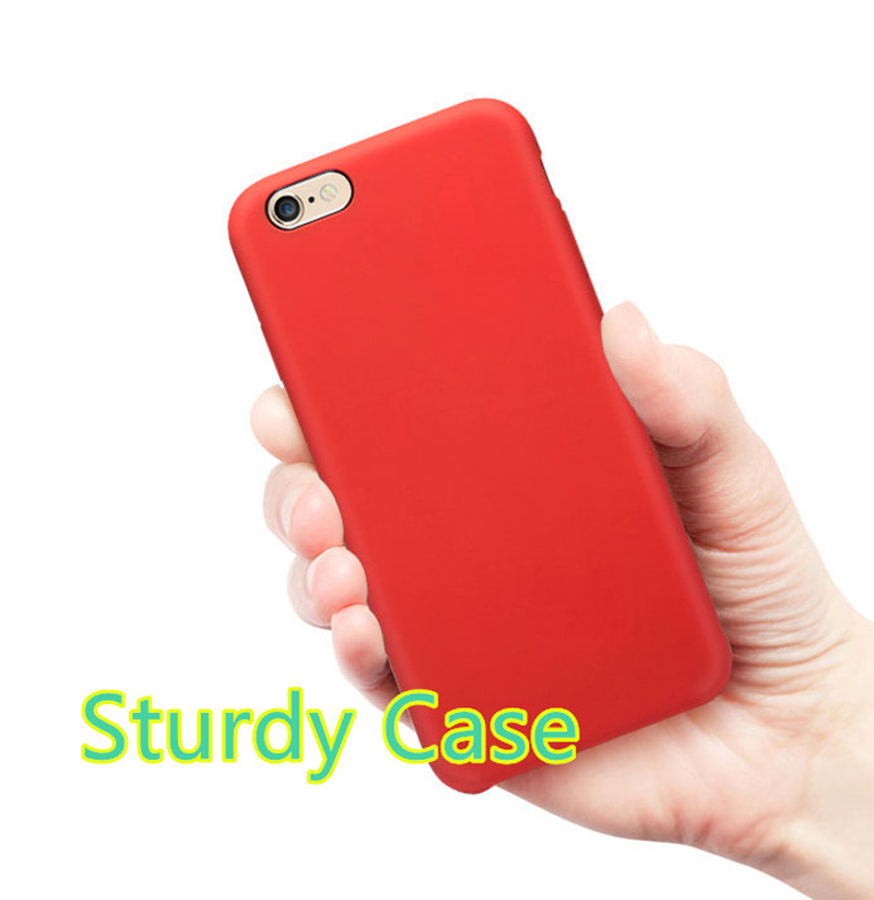 Perfect Silicone Protective Case Cover For iPhone 8 7 6S 6 Plus IP6S03_8