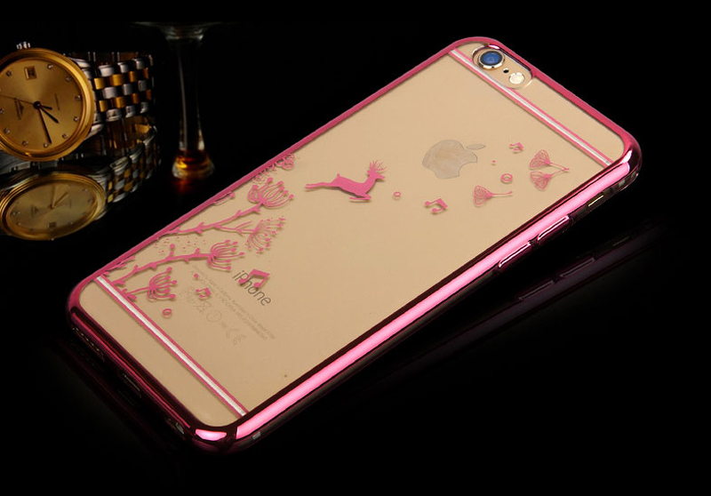 Best Pink Silicone Cases Or Covers With Metal Frame For iPhone 6S And 6S Plus IP6S04_11
