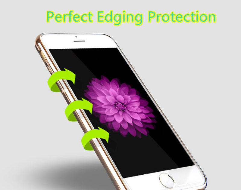 Best Pink Silicone Cases Or Covers With Metal Frame For iPhone 6S And 6S Plus IP6S04_5