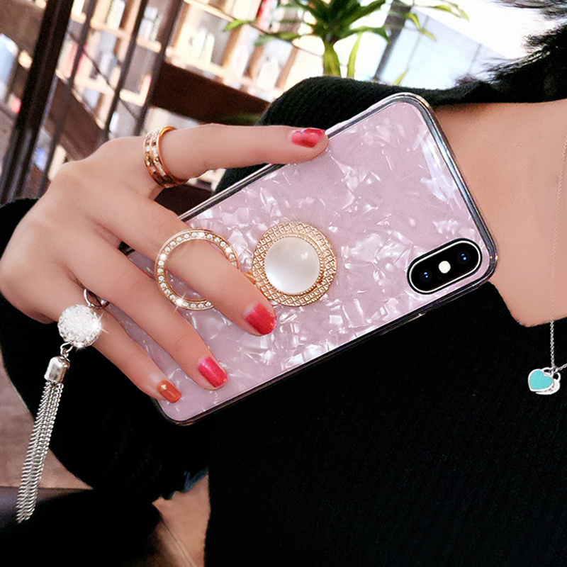 Perfect iPhone 11 XS Max XR 6 7 8 Plus Case With Diamond Ring IP6S06_10