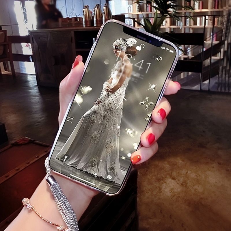 Perfect iPhone 11 XS Max XR 6 7 8 Plus Case With Diamond Ring IP6S06_11