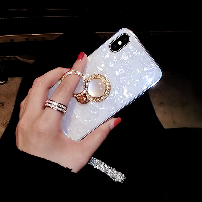 Pink iPhone 8 7 6 6S Plus Case Cover With Bright Diamond For 2017 Christmas Gift IP6S06_7