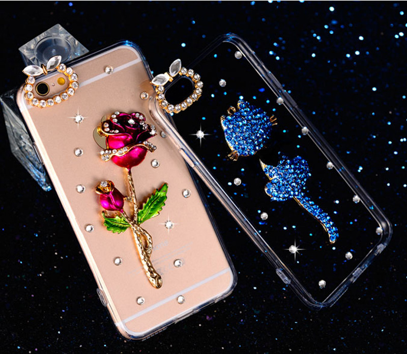 2018 Silicone Diamond IPhone 6 And 6S Cases Or Covers