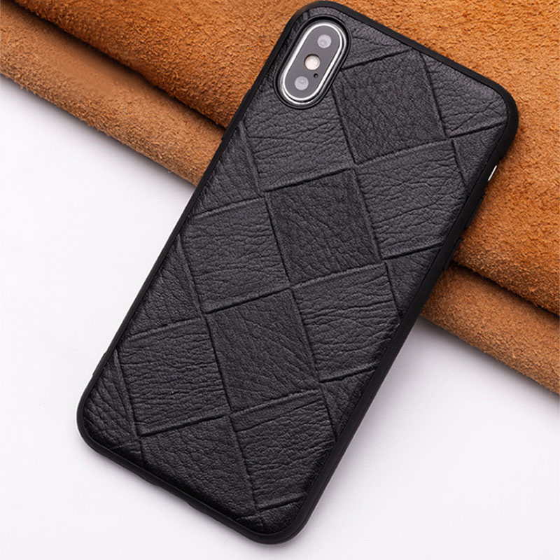 All-inclusive Real Leather Case For iPhone 11 Pro X XR Max 8 7 6 Plus IP6S11_8