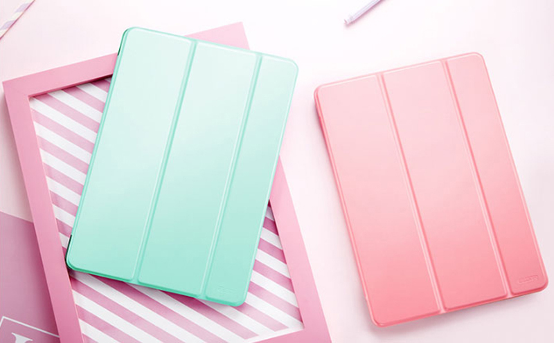 Perfect 2017 2018 New iPad 9.7 Inch Leather Case Cover IP7C01_16