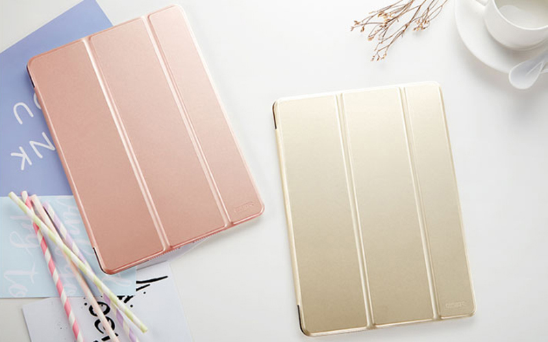 Perfect 2017 2018 New iPad 9.7 Inch Leather Case Cover IP7C01_17
