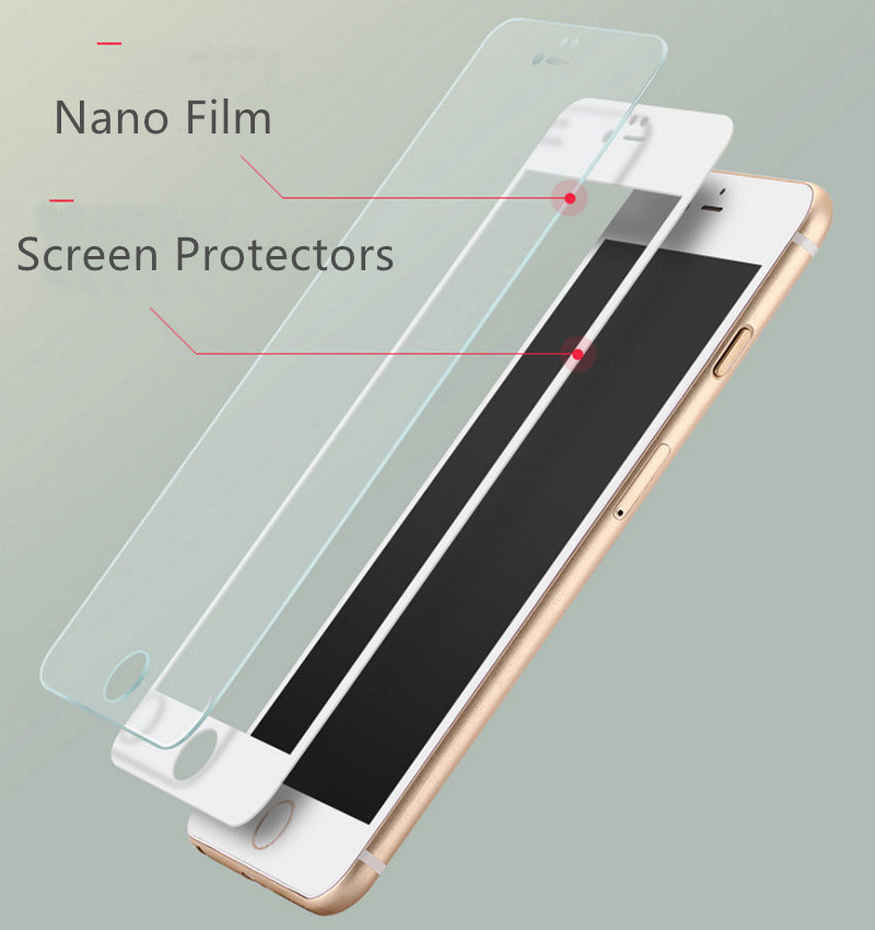 Anti Blue Light iPhone 8 7 6 6S Plus Full Screen Coverage Protectors Nano Film IPASP05_10