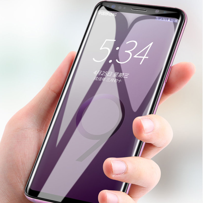 Perfect Samsung S9 And Plus Tempered Film Screen Protector IPASP09_7