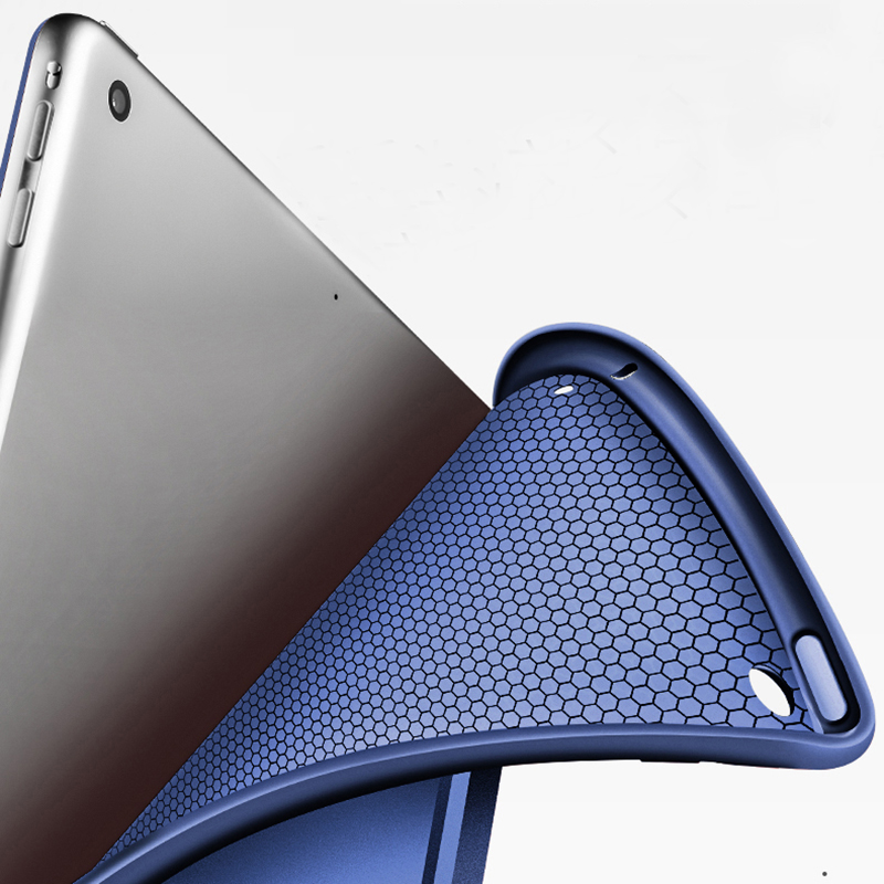 Perfect Silicone Navy blue iPad Air Case Cover IPC02_10
