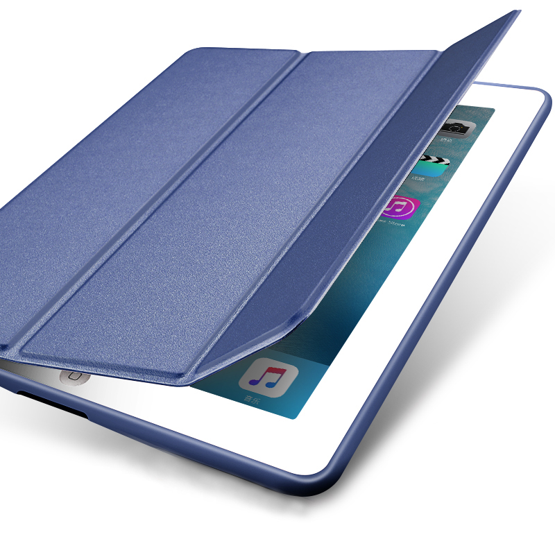 Perfect Silicone Navy blue iPad Air Case Cover IPC02_9