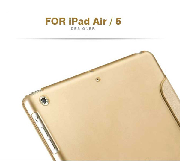 Top And Cool Cheap Leather Apple iPad Air Covers And Cases Cheap Smart Cases And Cover For iPad Air IPC04_15