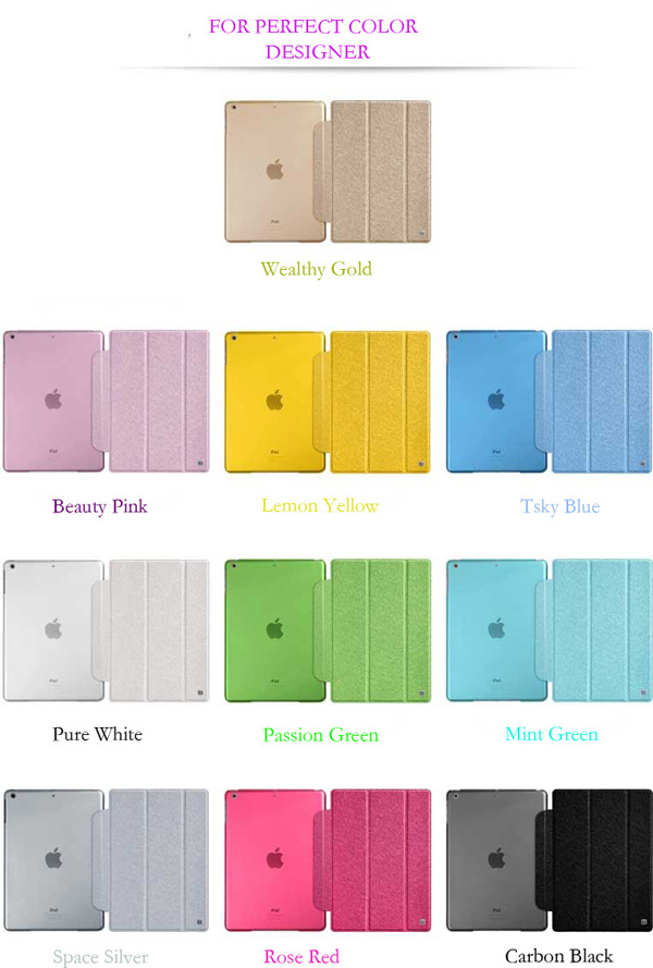 Top And Cool Cheap Leather Apple iPad Air Covers And Cases Cheap Smart Cases And Cover For iPad Air IPC04_21
