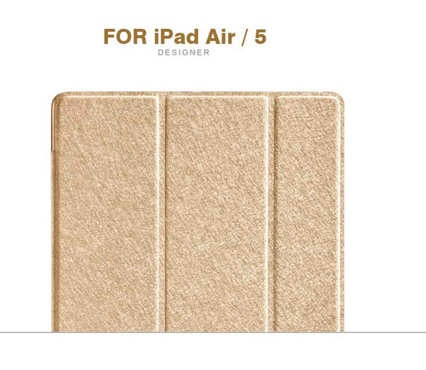 Top And Cool Cheap Leather Apple iPad Air Covers And Cases Cheap Smart Cases And Cover For iPad Air IPC04_5