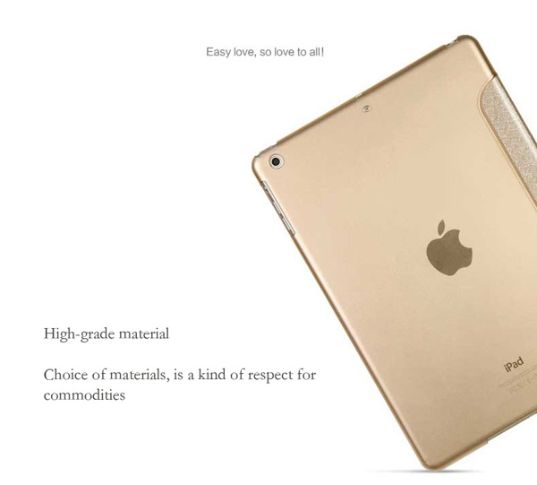 Top And Cool Cheap Leather Apple iPad Air Covers And Cases Cheap Smart Cases And Cover For iPad Air IPC04_6