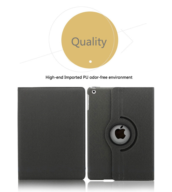 360 Rotation Covers For iPad Air IPC08_16