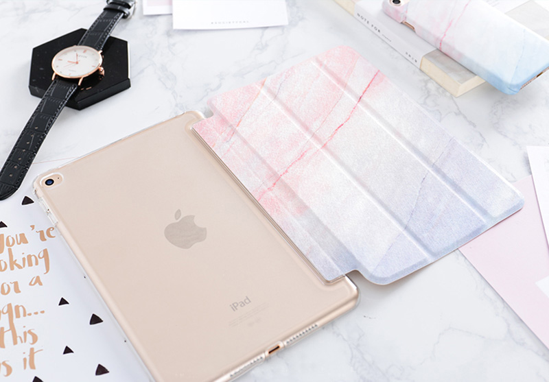 New Marble Pattern Case Cover For 2019 iPad Mini Air Pro IPCC12_11