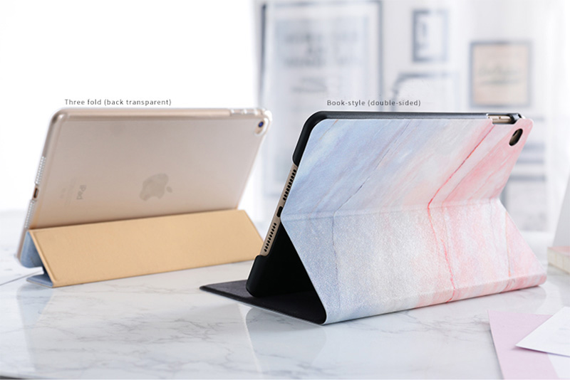 New Marble Pattern Case Cover For 2019 iPad Mini Air Pro IPCC12_7