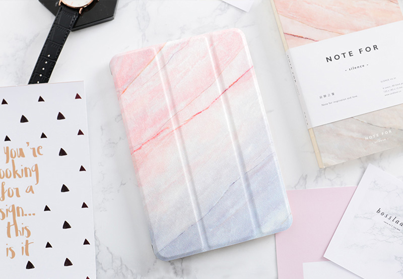 New Marble Pattern Case Cover For 2019 iPad Mini Air Pro IPCC12_9