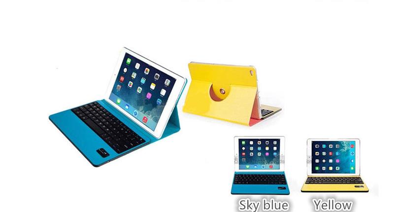 360 Degree Rotation iPad Air 2 Keyboard Covers IPCK02_1