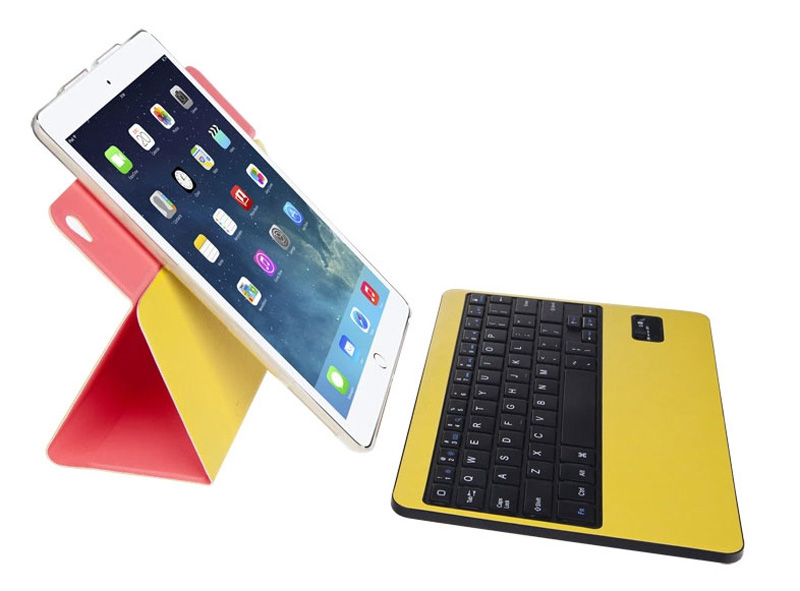 360 Degree Rotation iPad Air 2 Keyboard Covers IPCK02_2