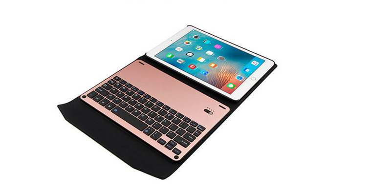Protective Leather Case With Keyboard For iPad 2017 Air 2 iPad Pro 9.7 12.9 Inch IPCK06_8